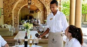 Waiter-serving